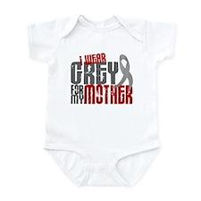 I Wear Grey For My Mother 6 Infant Bodysuit