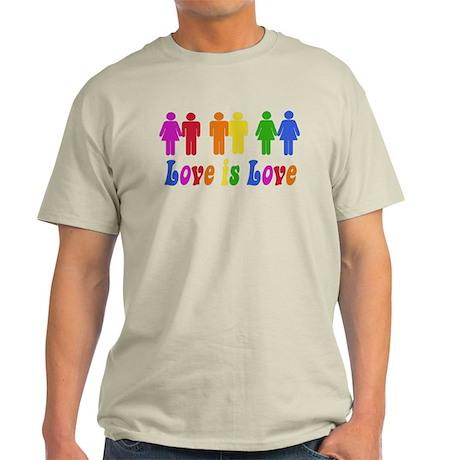 Love is Love Light T-Shirt