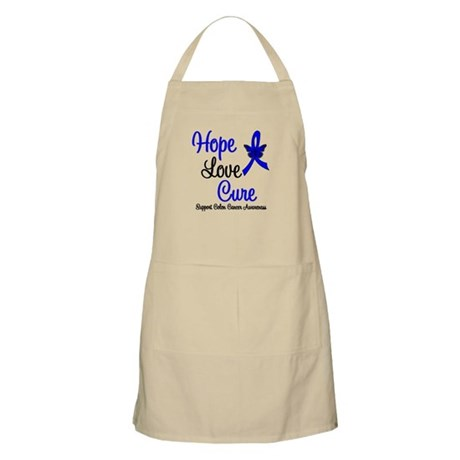 ColonCancer HopeLoveCure BBQ Apron