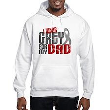I Wear Grey For My Dad 6 Jumper Hoody