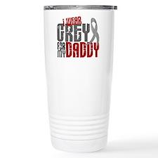 I Wear Grey For My Daddy 6 Travel Mug