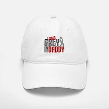 I Wear Grey For My Daddy 6 Hat