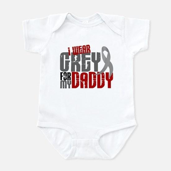 I Wear Grey For My Daddy 6 Infant Bodysuit