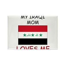 My Israeli Mom Loves Me Rectangle Magnet