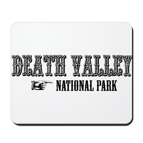 Death Valley Western Flair Mousepad
