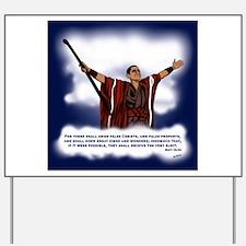 False Christ Yard Sign