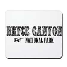 Bryce Canyon Western Flair Mousepad