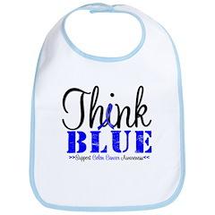 Colon Cancer Think Blue Bib