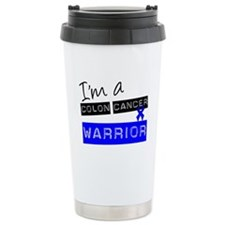 Colon Cancer Warrior Thermos Mug