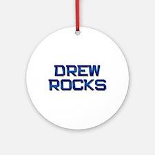 drew rocks Ornament (Round)