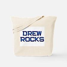drew rocks Tote Bag