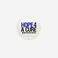 Colon Cancer Hope 4 a Cure Mini Button (10 pack)