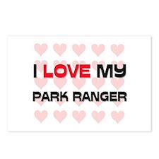 I Love My Park Ranger Postcards (Package of 8)