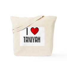 I LOVE TANIYAH Tote Bag