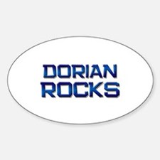 dorian rocks Oval Decal