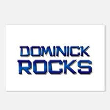 dominick rocks Postcards (Package of 8)