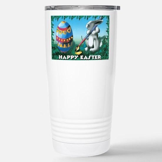 Easter Bunny Stainless Steel Travel Mug