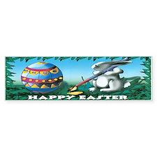 Easter Bunny Bumper Bumper Sticker