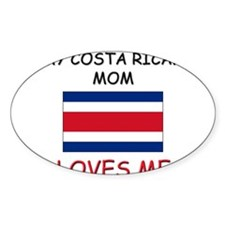 My East Timorese Mom Loves Me Oval Decal