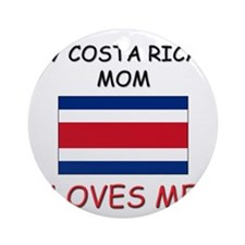 My East Timorese Mom Loves Me Ornament (Round)