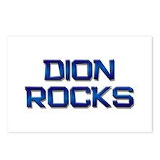 dion rocks Postcards (Package of 8)