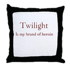 Twilight Junkies Throw Pillow