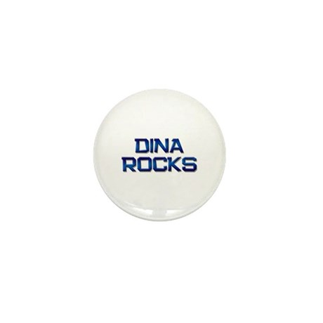 dina rocks Mini Button