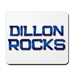 dillon rocks Mousepad