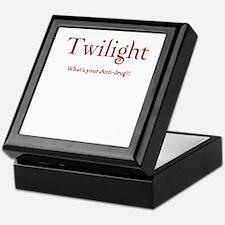 """Twilight Junkies """"Twilight Anti-Drug"""" Keepsake Box"""