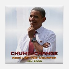 Chump Change Tile Coaster