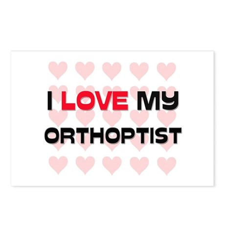 I Love My Orthoptist Postcards (Package of 8)