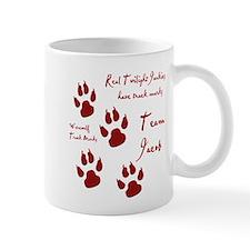 """Twilight Junkies """"Werewolf Tracks"""" Mug"""