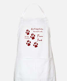 "Twilight Junkies ""Werewolf Tracks"" BBQ Apron"