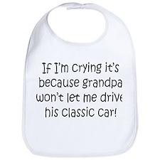 Drive Grandpas Classic Car Bib
