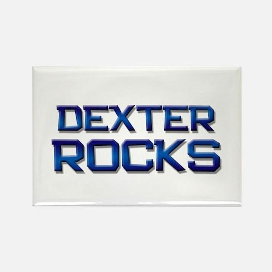 dexter rocks Rectangle Magnet