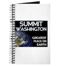 summit washington - greatest place on earth Journa