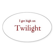 "Twilight Junkies ""Twilight High"" Oval Decal"