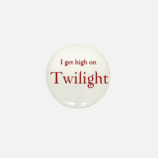 "Twilight Junkies ""Twilight High"" Mini Button"