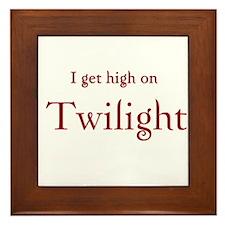 "Twilight Junkies ""Twilight High"" Framed Tile"