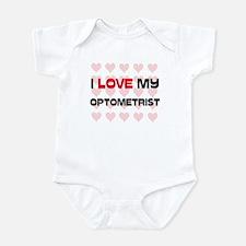 I Love My Optometrist Infant Bodysuit