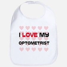 I Love My Optometrist Bib
