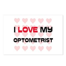 I Love My Optometrist Postcards (Package of 8)