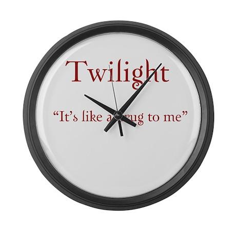 """Twilight Junkies """"Twilight Drug"""" Large Wall Clock"""
