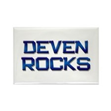 deven rocks Rectangle Magnet