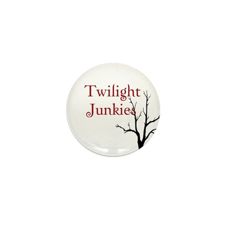 "Twilight Junkies ""Twilight Junkie"" Mini Button"