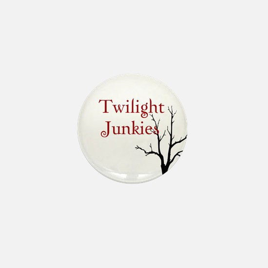 """Twilight Junkies """"Twilight Junkie"""" Mini Button"""