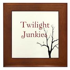 """Twilight Junkies """"Twilight Junkie"""" Framed Tile"""