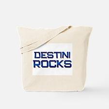 destini rocks Tote Bag