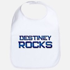 destiney rocks Bib