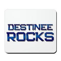 destinee rocks Mousepad